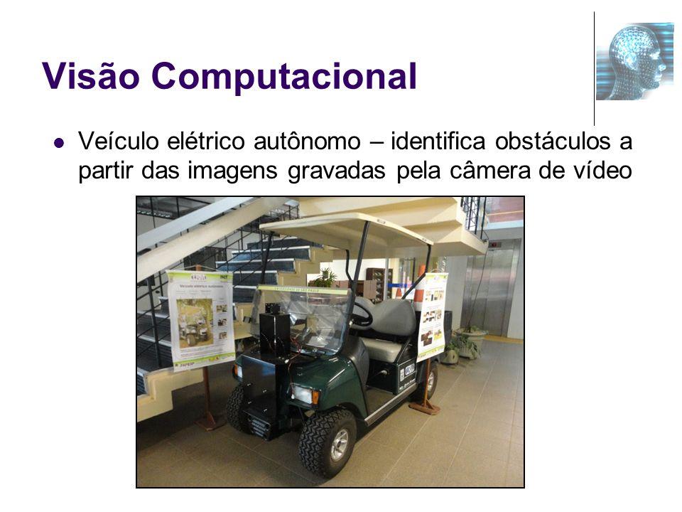 Visão Computacional Veículo elétrico autônomo – identifica obstáculos a partir das imagens gravadas pela câmera de vídeo