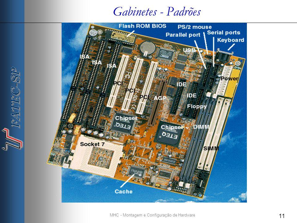 MHC - Montagem e Configuração de Hardware 11 Gabinetes - Padrões