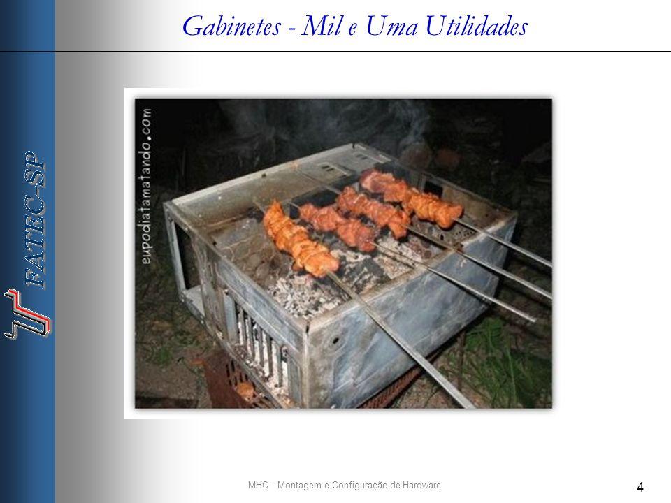 MHC - Montagem e Configuração de Hardware 4 Gabinetes - Mil e Uma Utilidades