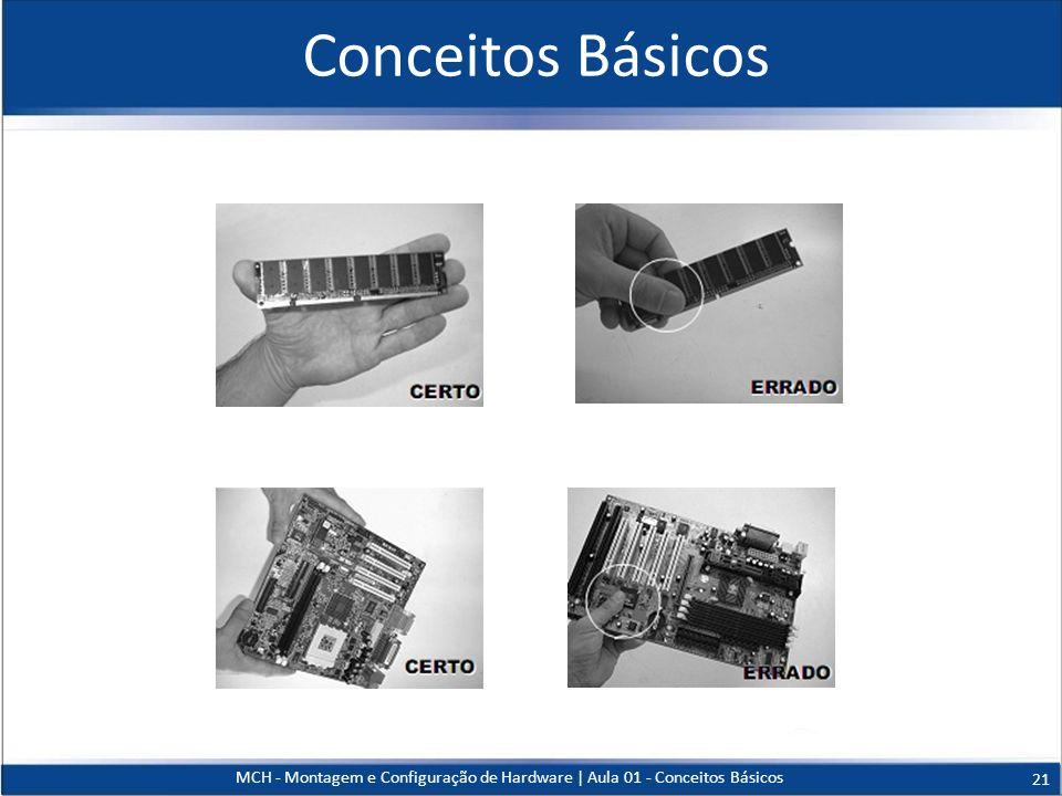 Conceitos Básicos MCH - Montagem e Configuração de Hardware   Aula 01 - Conceitos Básicos 21