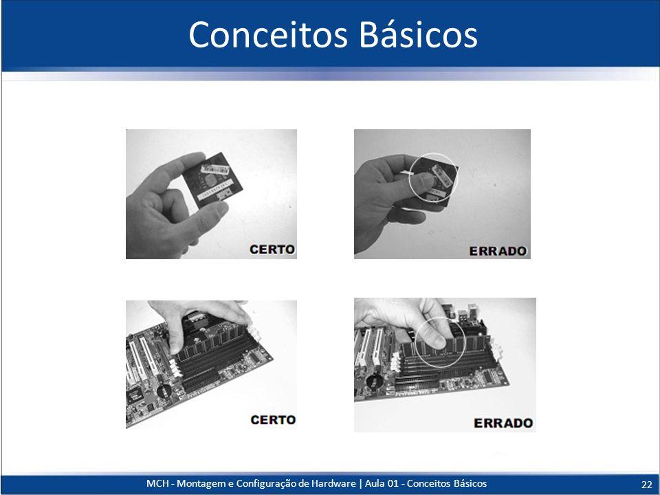 Conceitos Básicos MCH - Montagem e Configuração de Hardware   Aula 01 - Conceitos Básicos 22