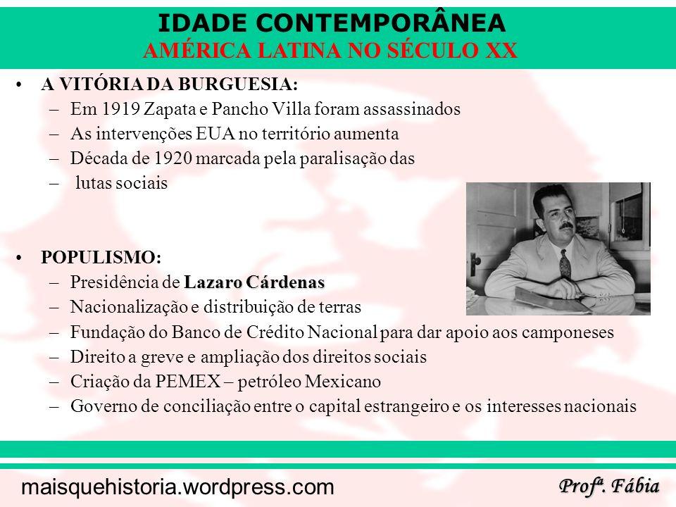 IDADE CONTEMPORÂNEA Profª.