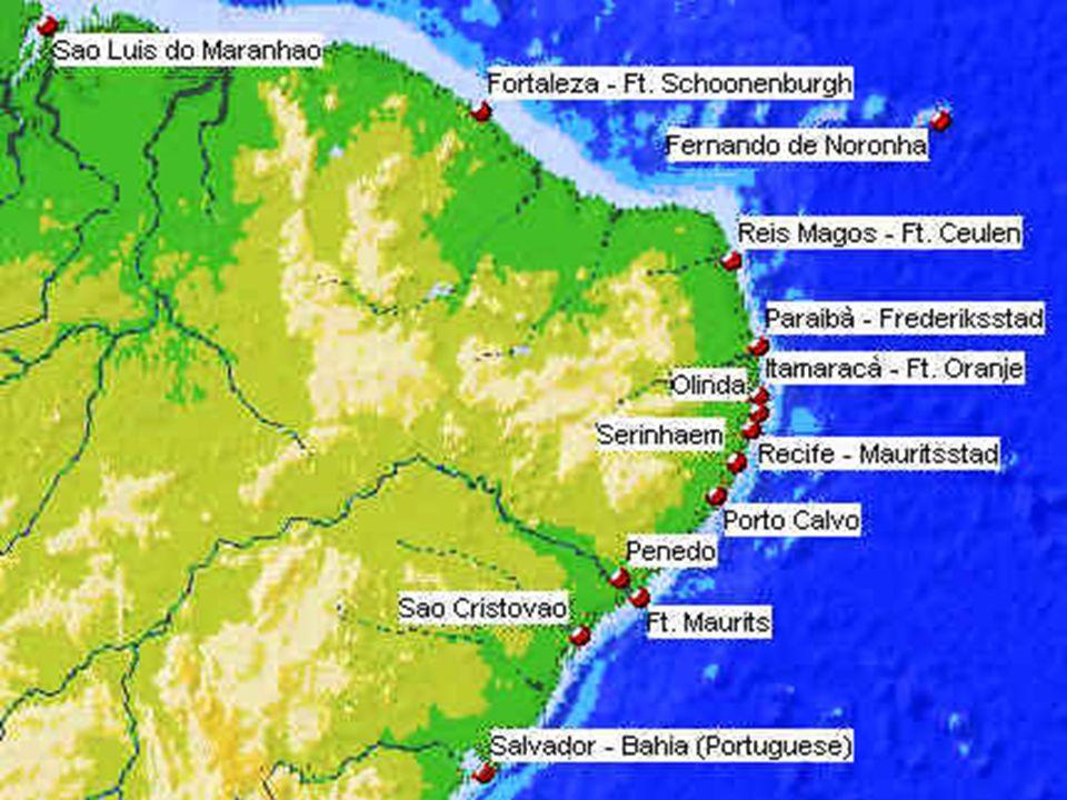 ATAQUE AO NORDESTE AÇUCAREIRO: 1624-1625: invasão da Bahia - fracasso 1630: ataque da WIC ao litoral pernambucano 1637-1644 - lutas: holandeses ocuparam todo litoral nordestino