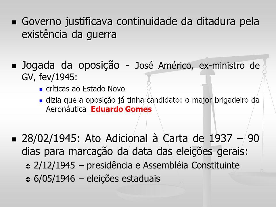Governo justificava continuidade da ditadura pela existência da guerra Governo justificava continuidade da ditadura pela existência da guerra Jogada d