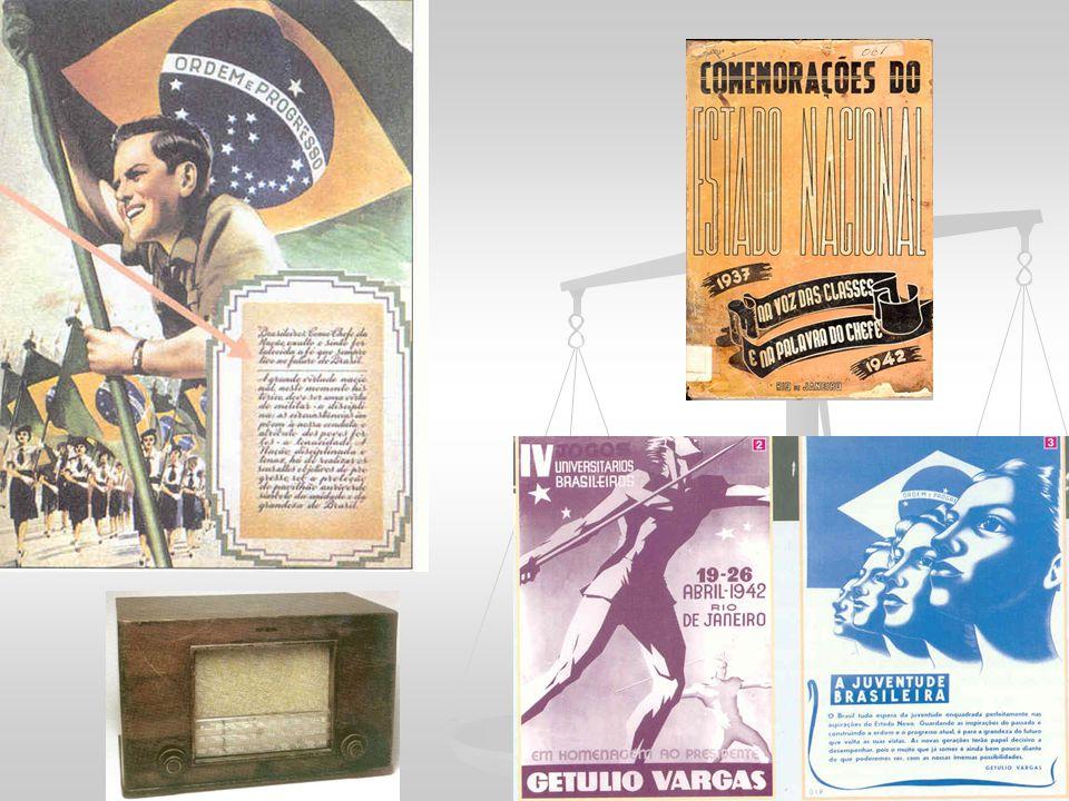 ECONOMIA NACIONALISTA Com a depressão pós-30 - governo Vargas continuou a política de valorização do café Órgãos que promoviam a expansão dos setores tradicionais e fomentavam novas atividades: Instituto do Café Institutos do Açúcar e Álcool, do Chá, do Mate e do Sal.