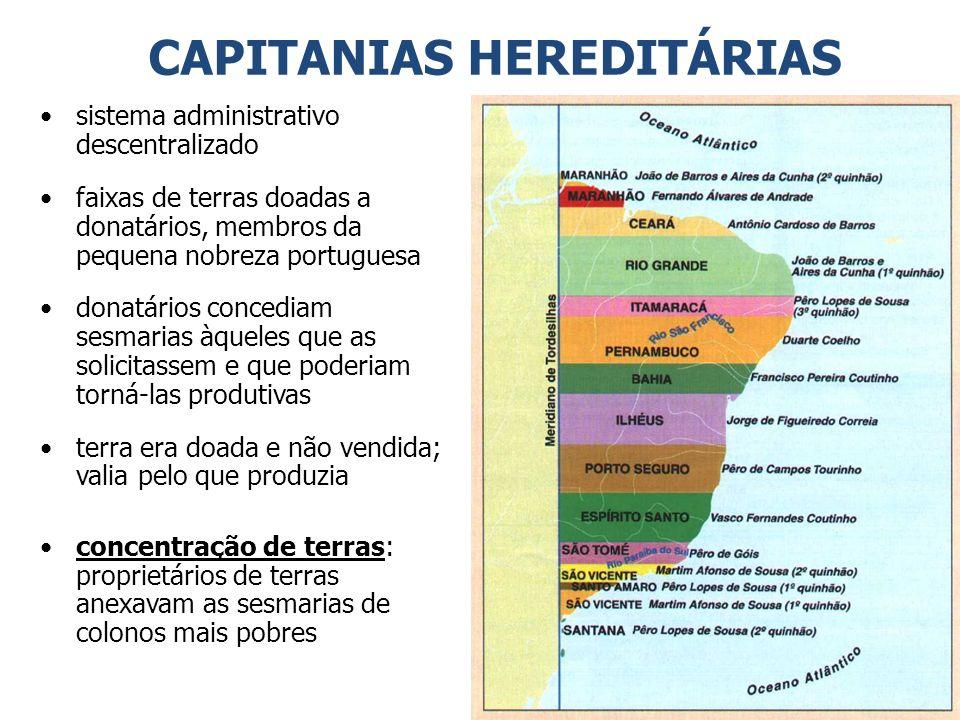 POLÍTICA COLONIZADORA (I) ADMINISTRAÇÃO COLONIAL PORTUGUESA