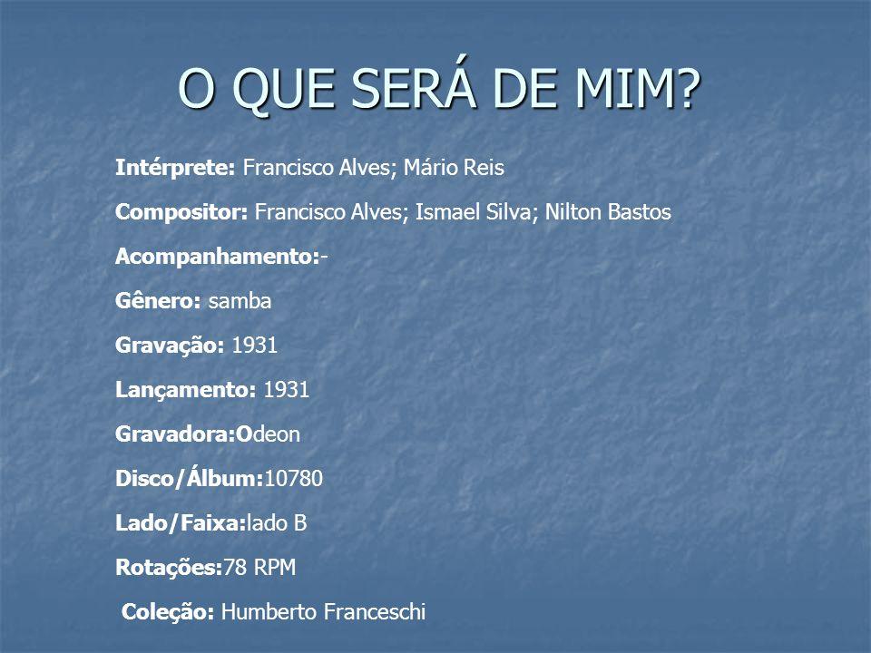 EXTRA 1 (UFBA - 2010) EXTRA 1 (UFBA - 2010) TEXTO I Narra a crônica que foi numa noite chuvosa do verão de 1939 que o mineiro de Ubá Ary Barroso (1903-1964) compôs Aquarela do Brasil, canção que divulgou a imagem de um país de natureza exuberante, de cidadãos de todas as classes e raças convivendo em alegre harmonia.