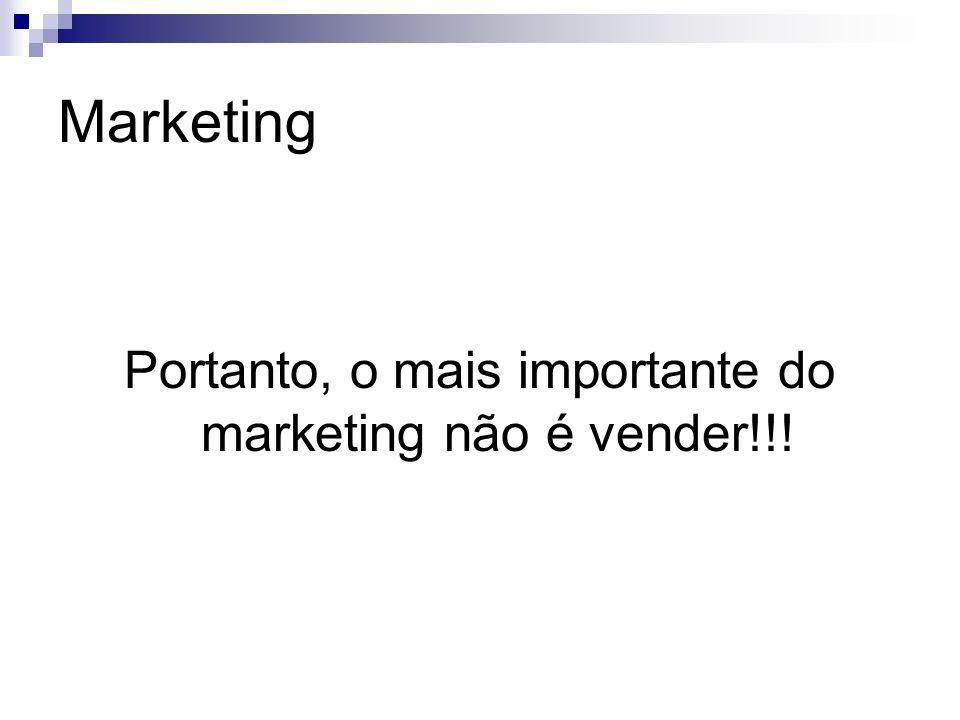Marketing Vender é só a ponta do iceberg!