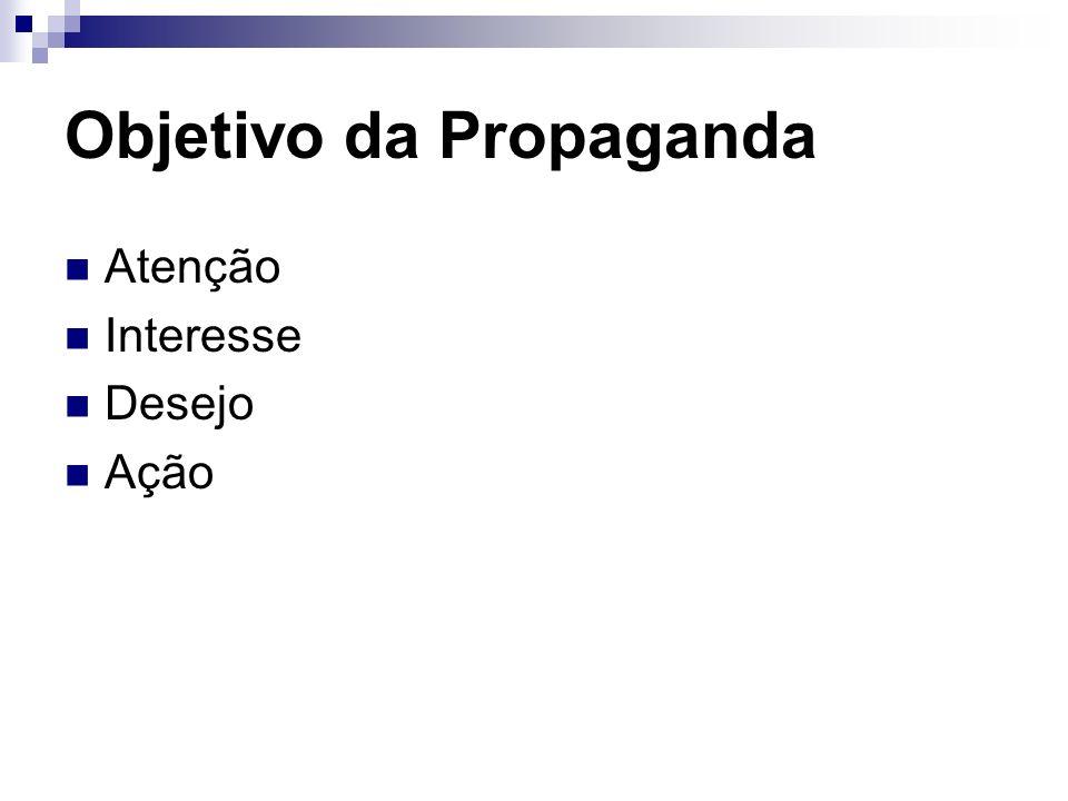 Exercício: Tendências da Propaganda Comunicação vista como parte do processo empresarial, e não apenas da atividade de marketing.