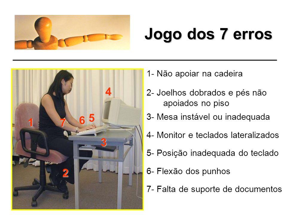 Processo de conscientização Jogo dos 7 erros Dicas Gerais Exercícios