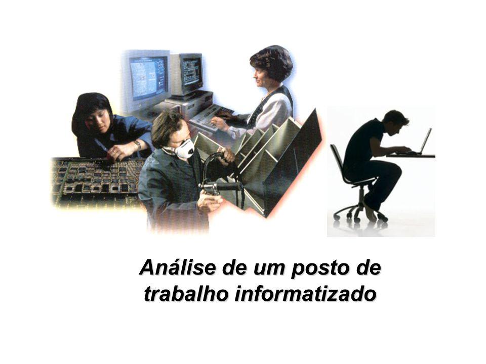 Análise de um posto de trabalho informatizado