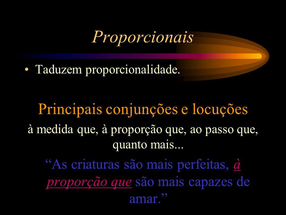 Proporcionais Taduzem proporcionalidade.