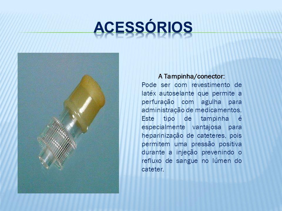 Acesso Venoso Periférico Dispositivos intravenosos Periféricos Agulhados Flexíveis