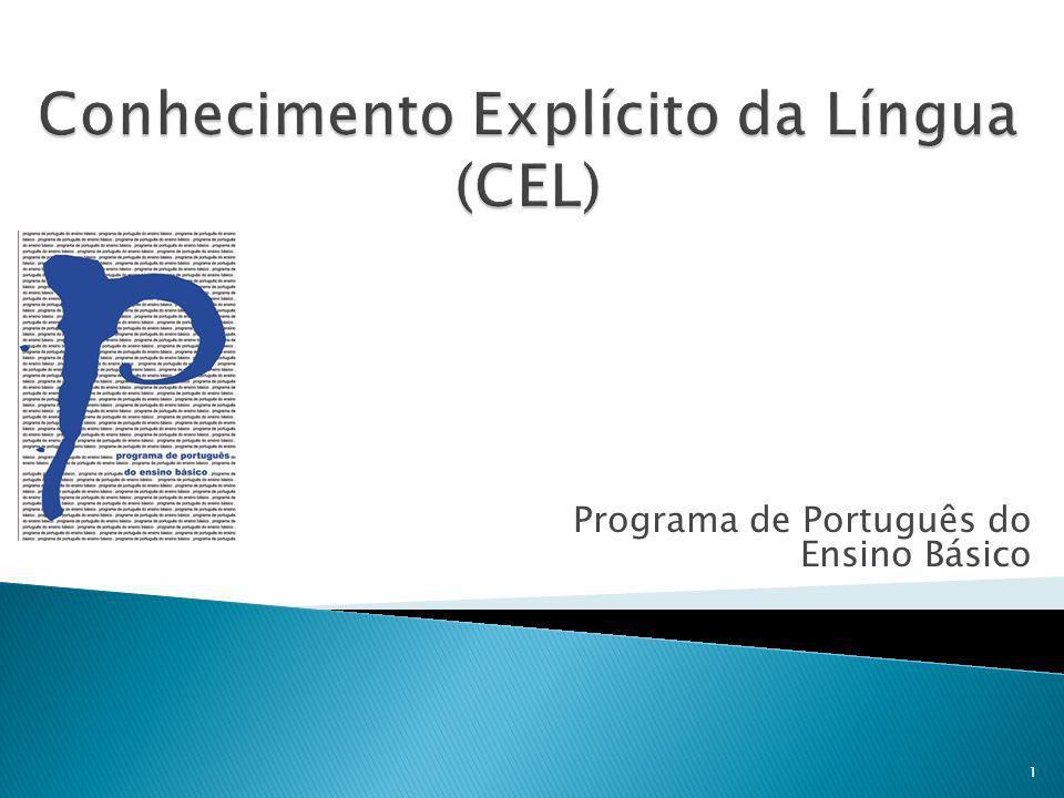 Programa de Português do Ensino Básico 1