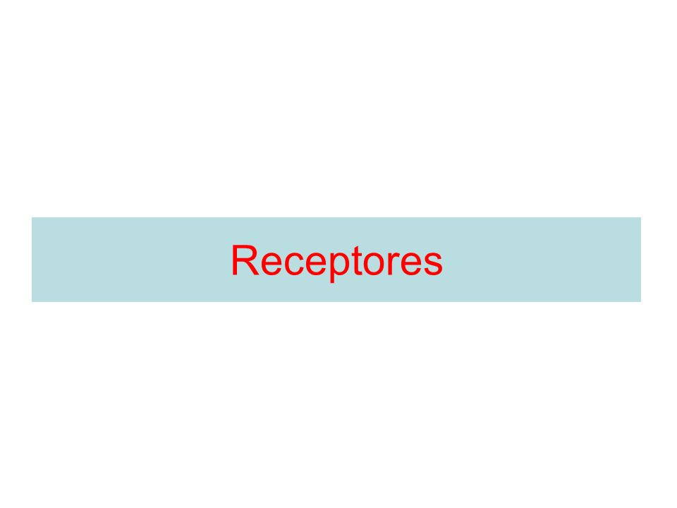 Receptores