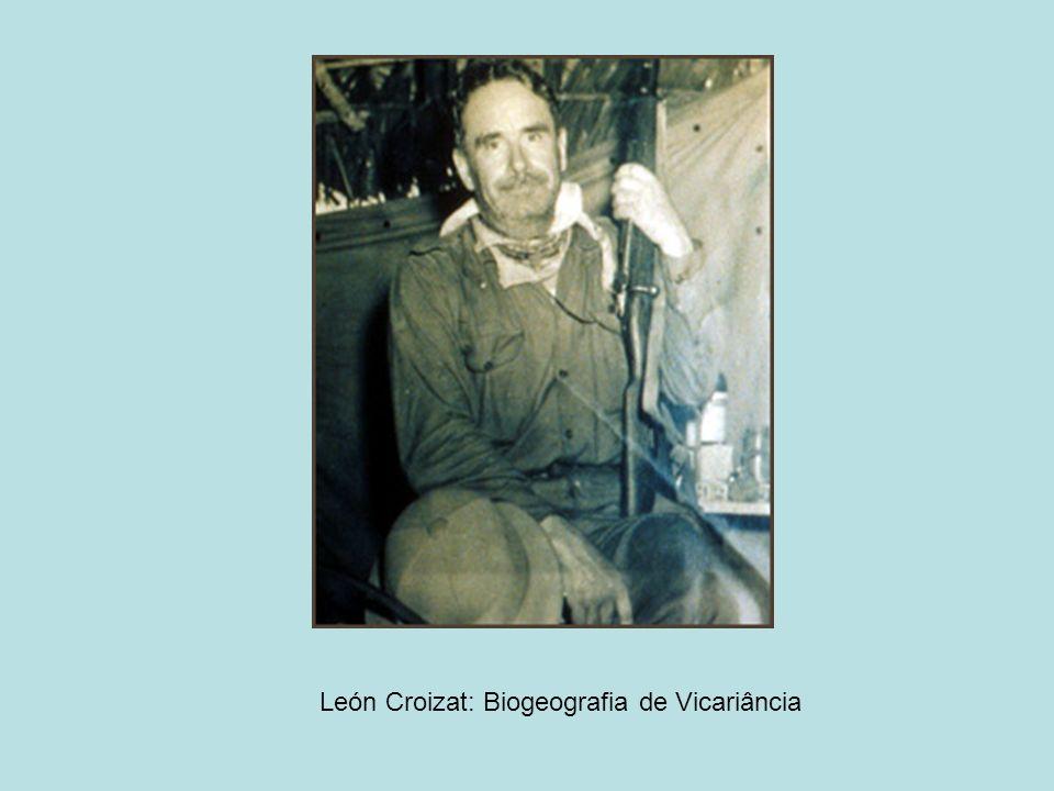 León Croizat: Biogeografia de Vicariância