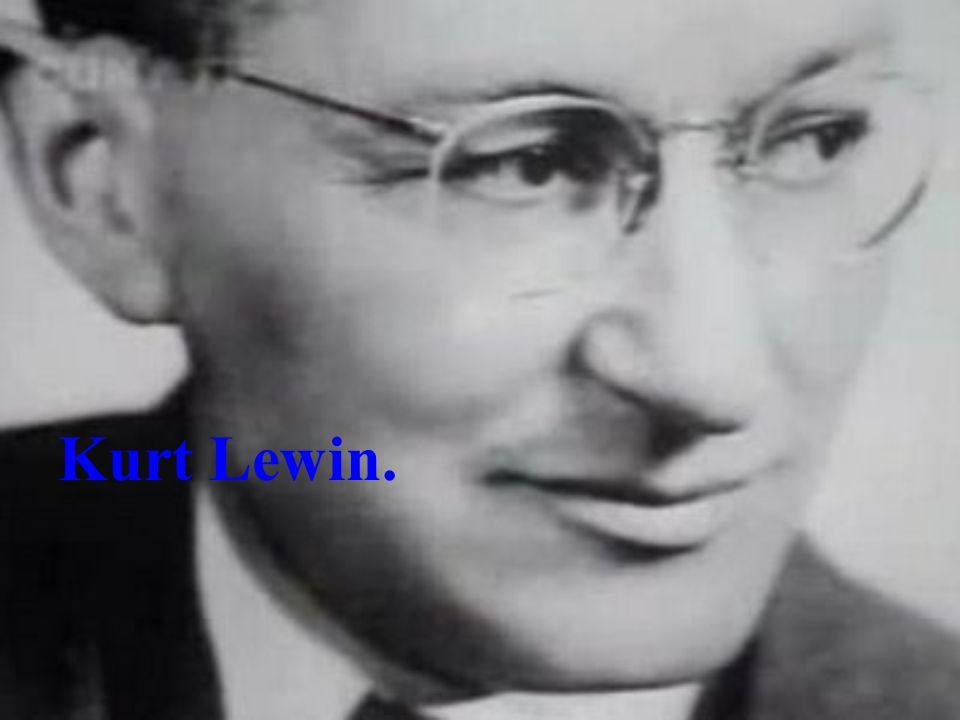 Teoria de Campo: Baseada em pressupostos físicos e Filosóficos, a teoria de Campo de Kurt Lewin é, um método de analisar relações causais e de criar construções científicas.