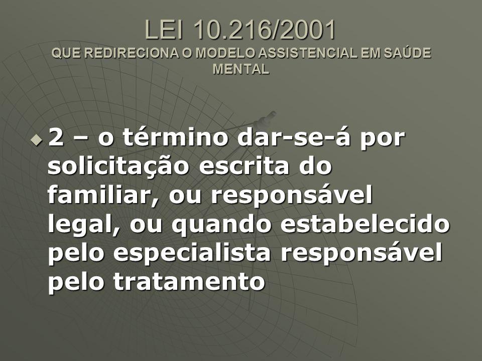 LEI 10.216/2001 Art.