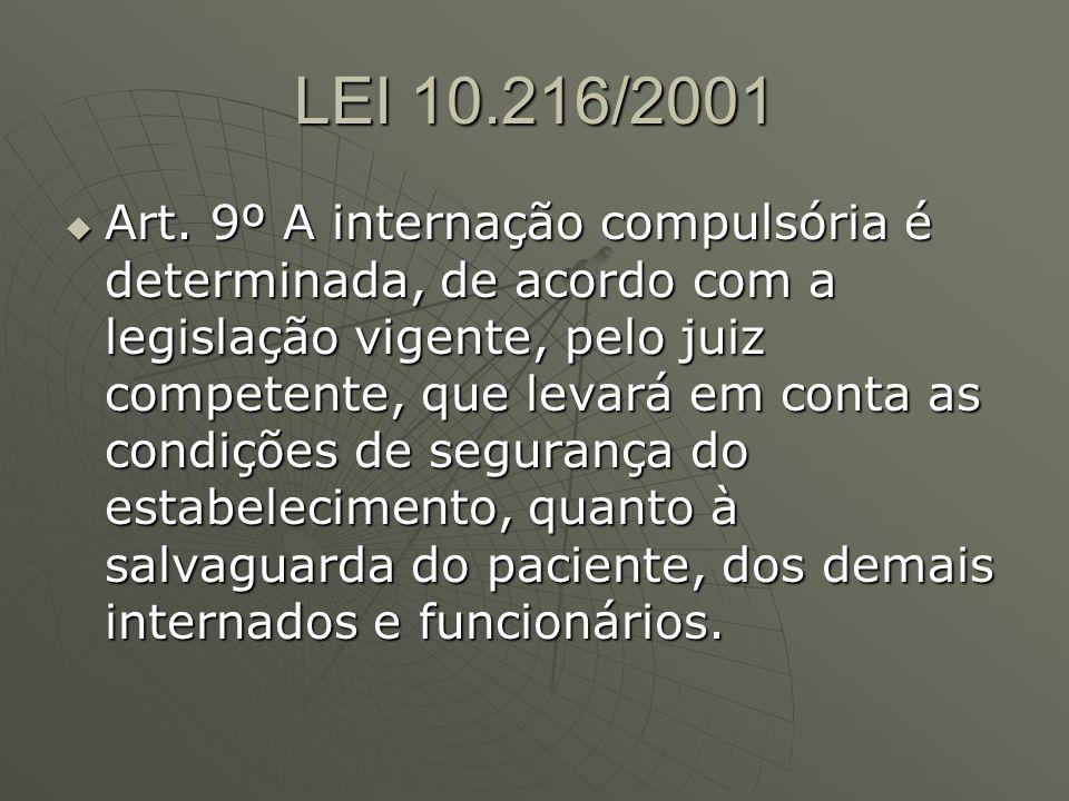 LEI 10.216/2001 Art.10.