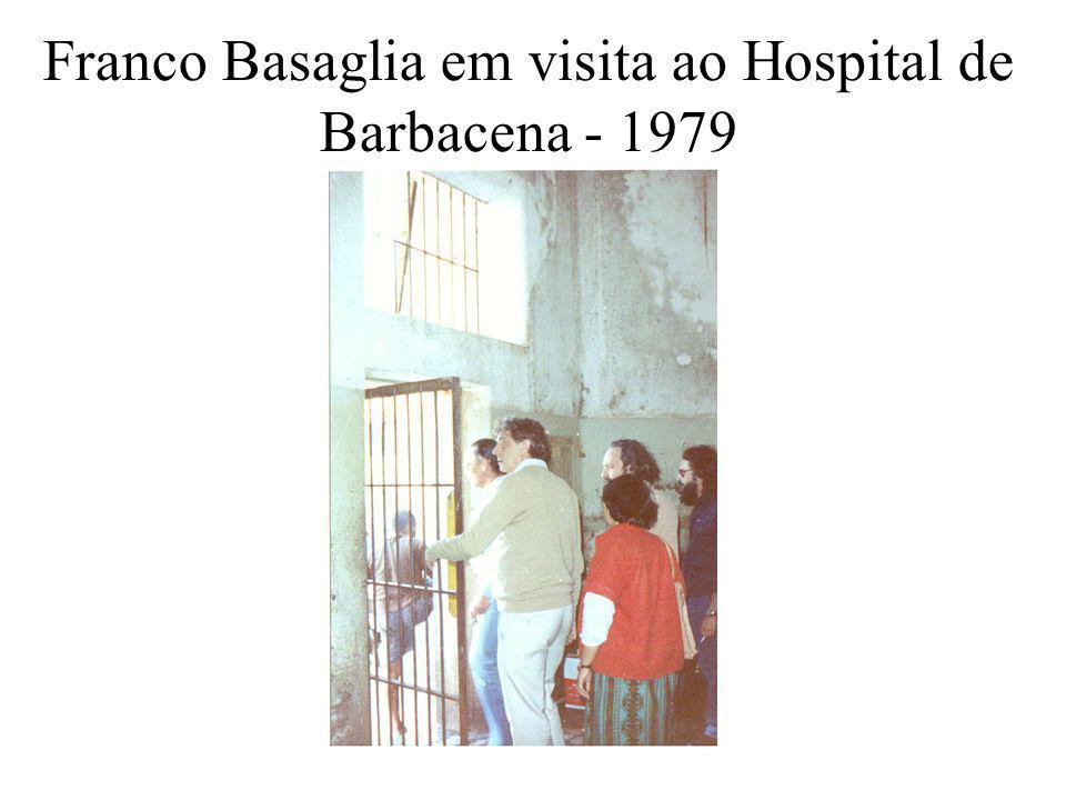 Franco Basaglia em visita ao Hospital de Barbacena - 1979