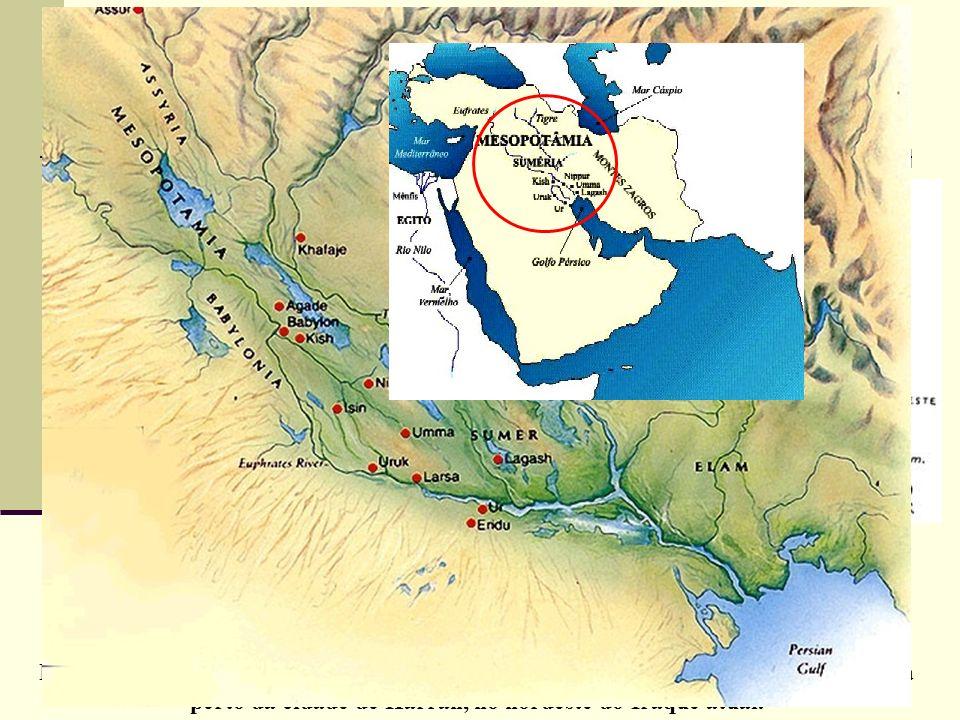 Os primeiros mapas MAPA DE GA-SUR (3.800 a 2.500 AC) Este é considerado um dos mapas mais antigos, foi encontrado na região da Mesopotâmia. Representa