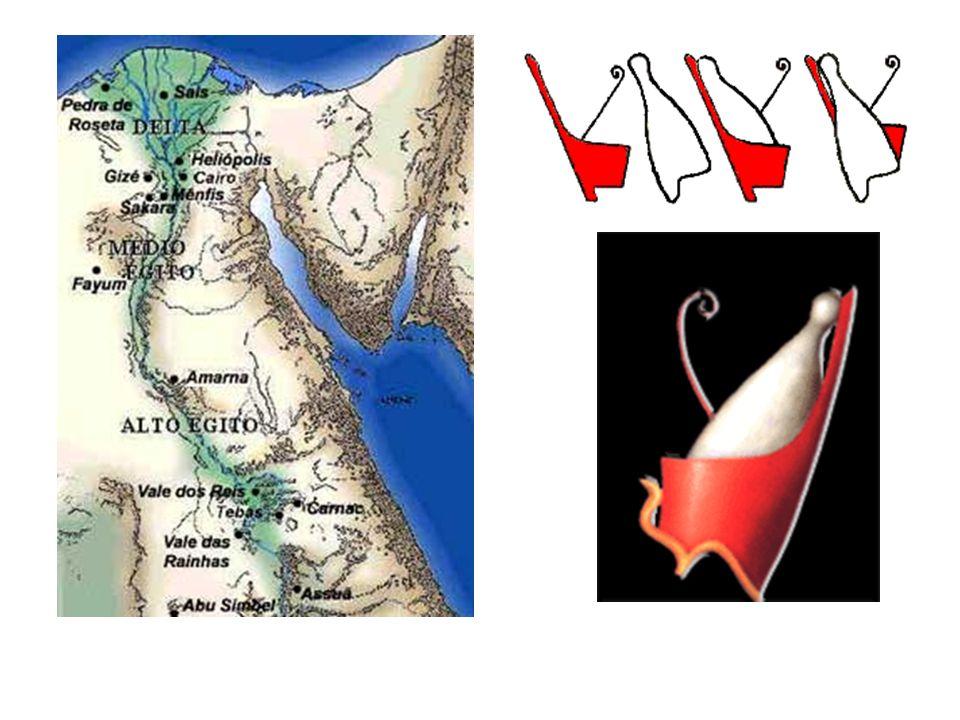 Egito unificado – três períodos Antigo Império – 3200 a 2130 a.C.