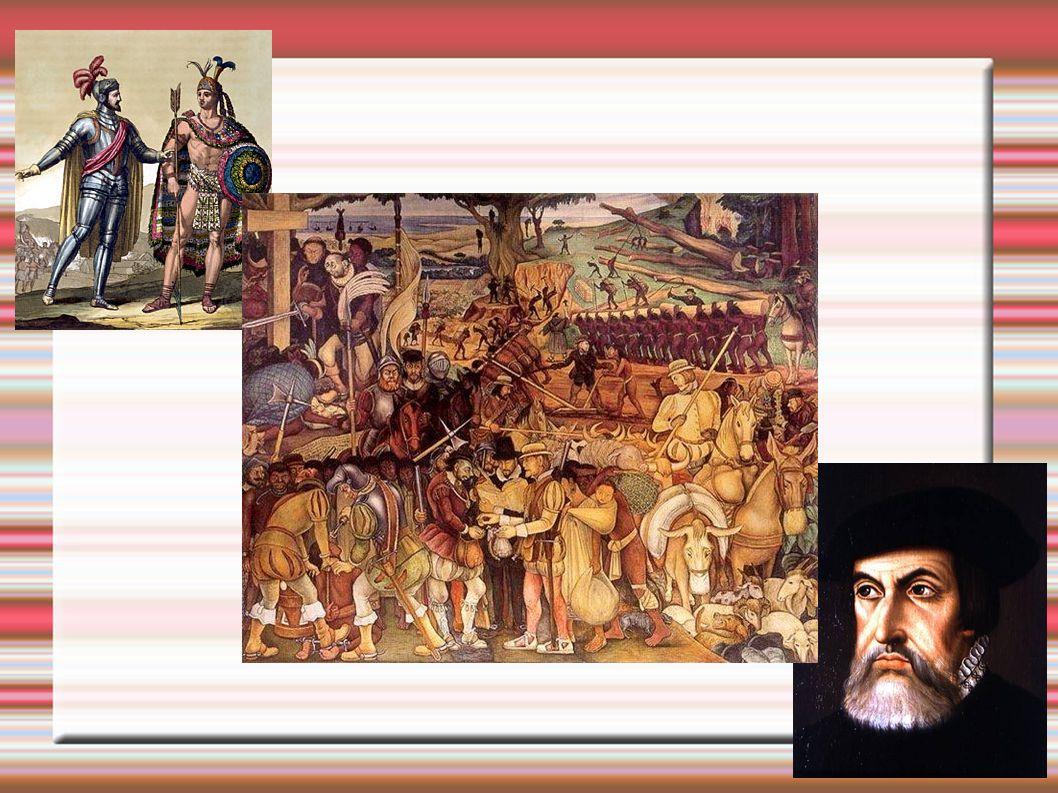 Cortez retorna a Tenochtitlán em maio de 1521 + 80 mil indígenas aliados Cidade resiste por três meses.