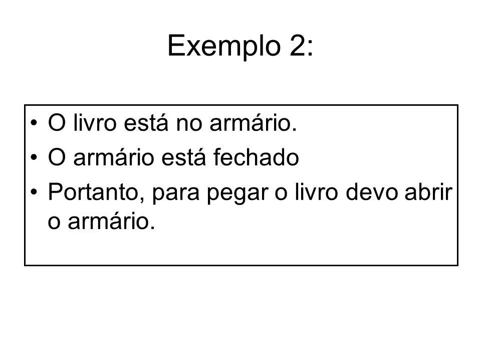 Exemplos: p: Pedro é Professor.q: Todas as mulheres dirigem mal.