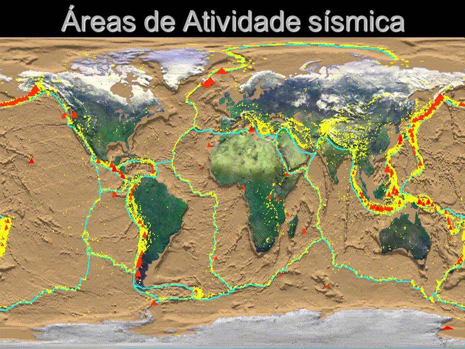 Áreas de Atividade sísmica