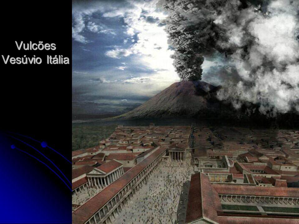 Vulcões Vesúvio Itália