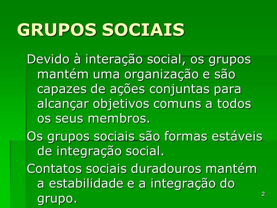 Grupos sociais - Sartre Enquanto não se estabelece a interação não existe o grupo, mas somente uma serialidade, em que cada indivíduo é equivalente a outro e todos constituem um número de pessoas equiparáveis e sem distinção entre si.