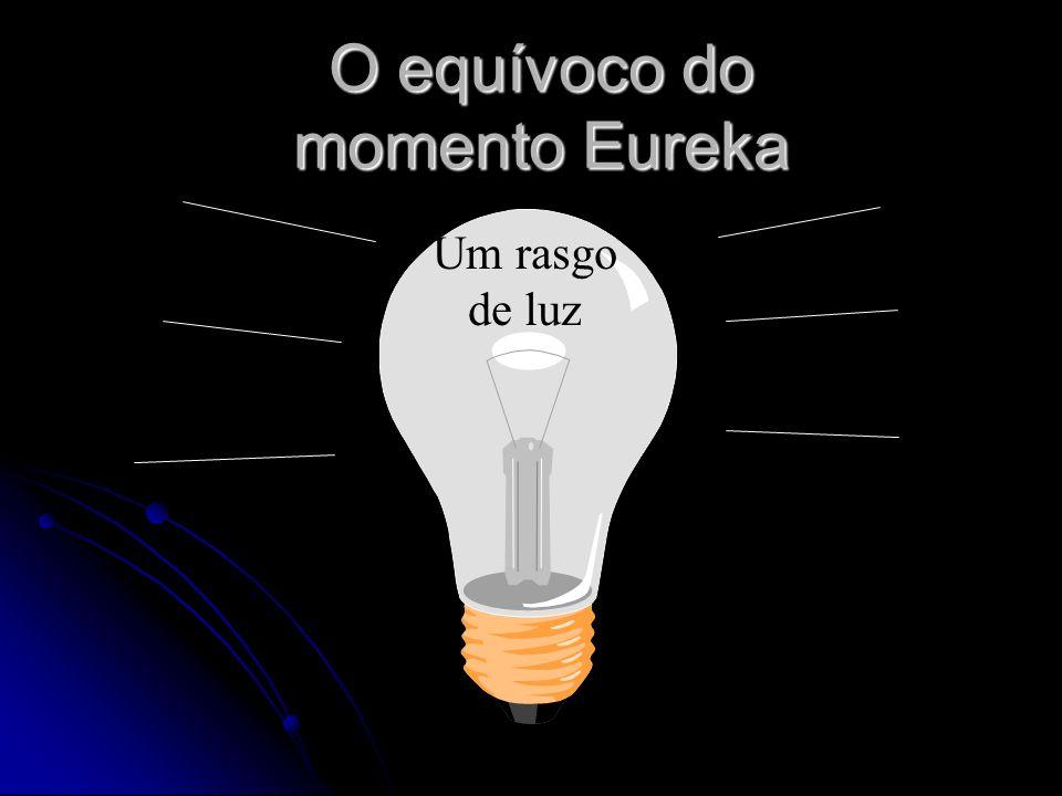 O equívoco do momento Eureka Um rasgo de luz