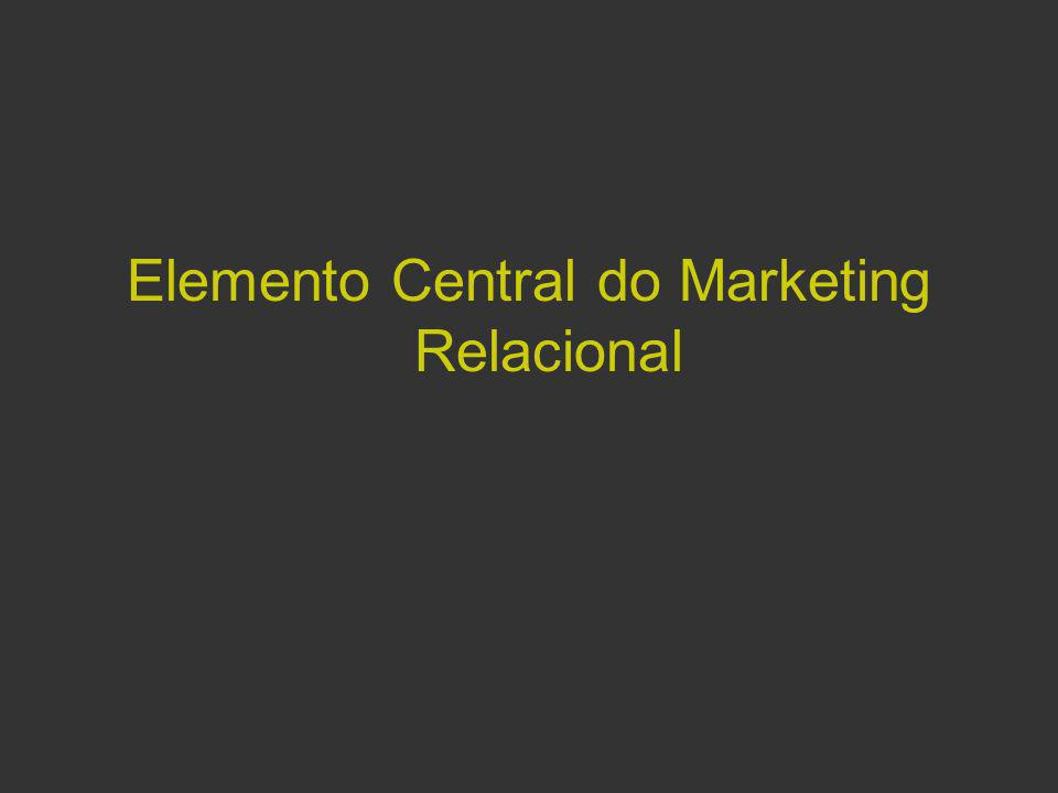 Elemento Central do Marketing Relacional