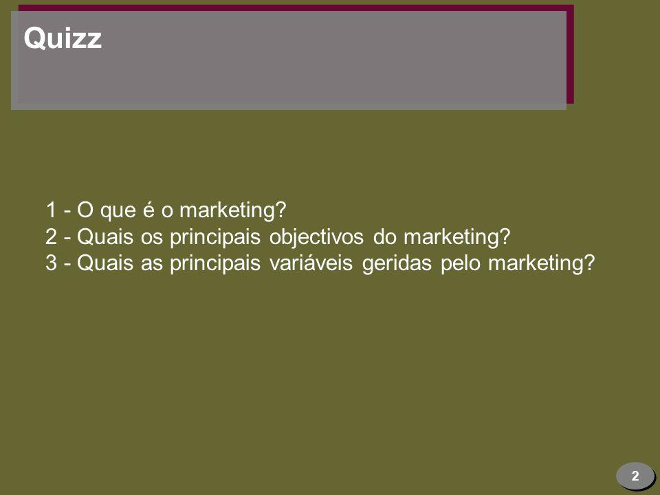3 Marketing Ligação e adaptação ao exterior Uso da informação de forma bidireccional De fora para dentro e vice-versa
