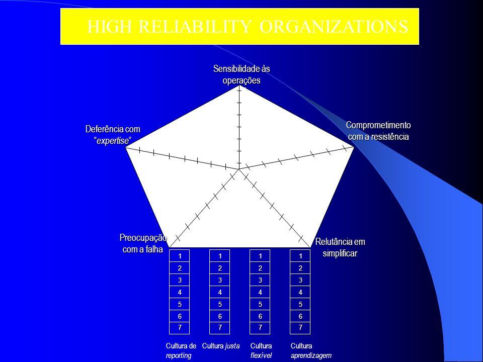 As hierarquias rígidas tem a sua própria vulnerabilidade ao erro. A burocracia clássica, do tipo comando e controlo, é adequada para um mundo estável,