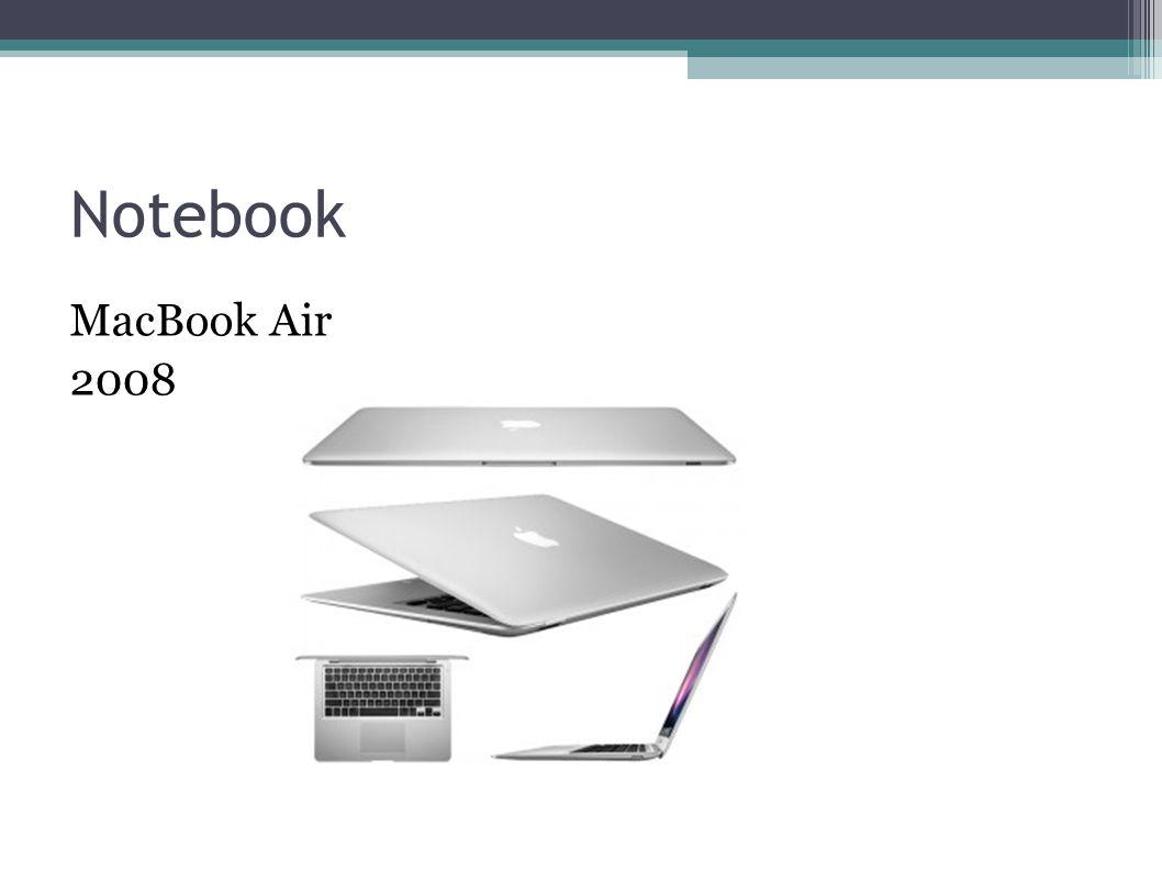 Notebook MacBook Air 2008