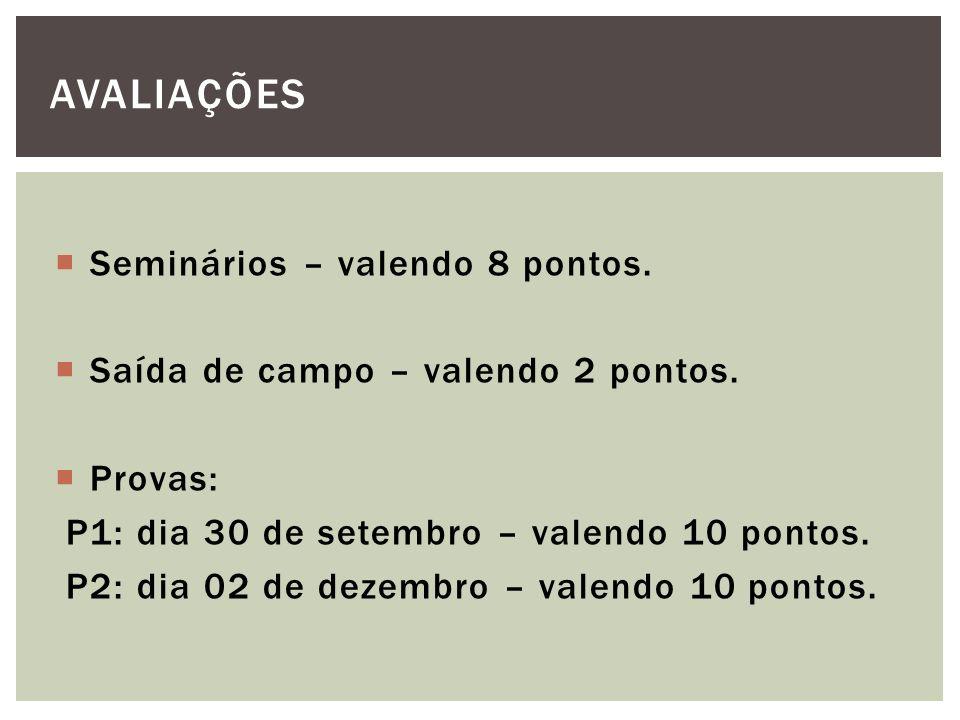 REGRAS PARA O TRABALHO As tabelas devem estar numeradas com algarismos arábicos seguidos de um ponto (exemplo: Tabela 1.
