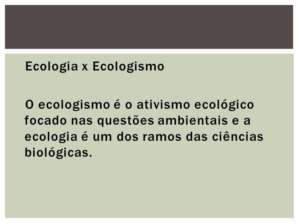 Tansley, em 1935, considerando que animais e plantas se conectavam por ligações alimentares e formavam com o meio físico à volta um sistema cunhou o termo ecossistema.