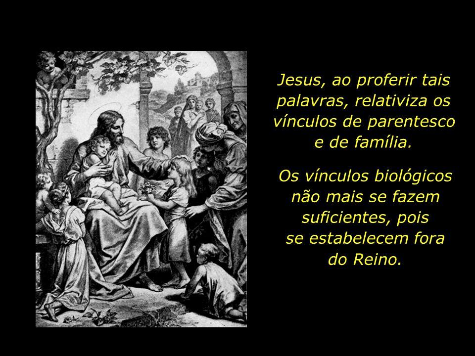 E, estendendo a mão para os discípulos, disse: Aqui estão minha mãe e meus irmãos. Pois todo aquele que fizer a vontade de meu Pai que está nos céus,