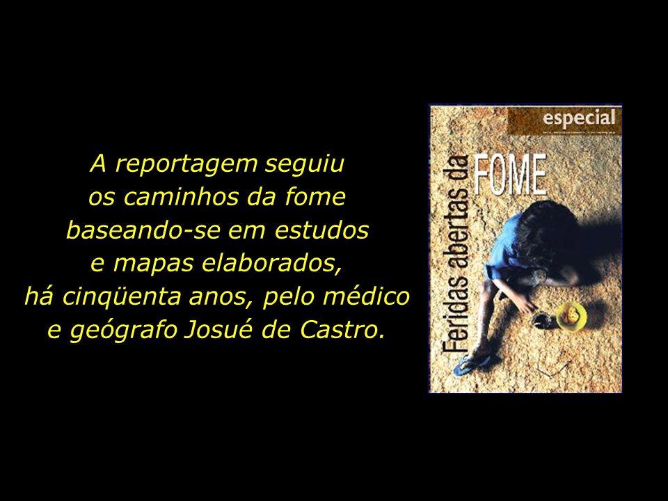 Para marcar o centenário de seu nascimento, o Jornal do Commercio, do Recife, veiculou um caderno especial chamado Feridas Abertas da Fome.