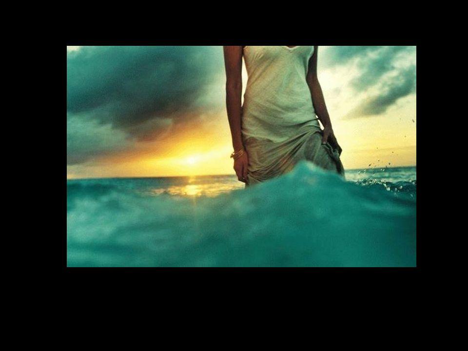 Sentir-se um com o Mar. Sentir-se parte do Todo.