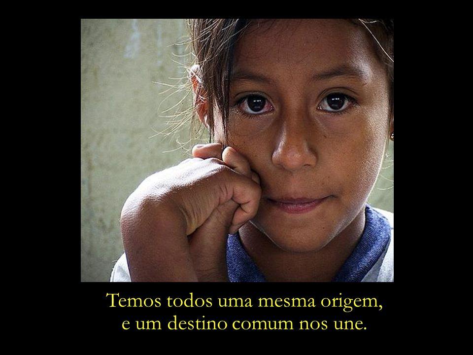 Os sonhos da menina indígena também são os nossos.