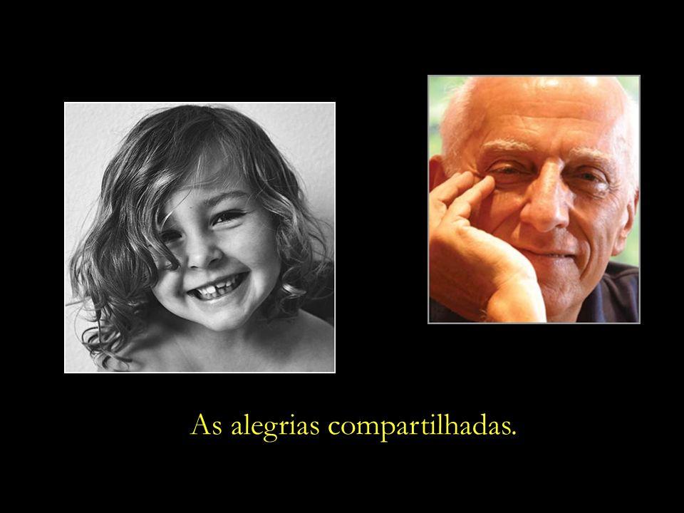 O educador e poeta Rubem Alves nos recorda: A vida da gente não se mede pela quantidade de anos que se vive. A vida da gente se mede pela quantidade d