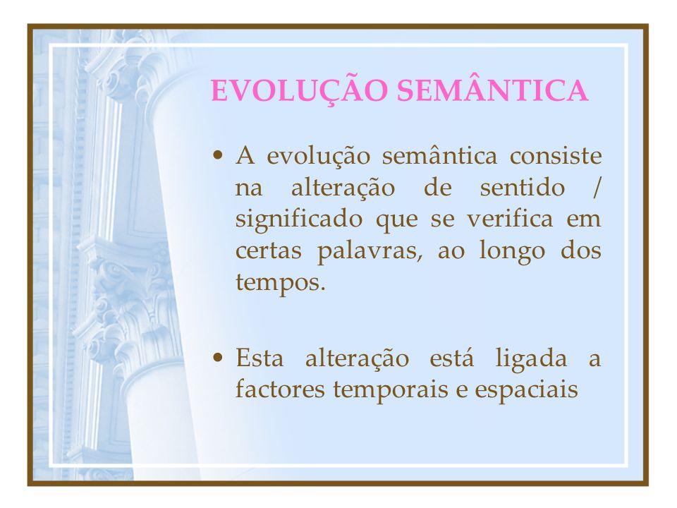 EVOLUÇÃO DA LÍNGUA LPO 9º Ano 2007 / 2008 Filomena Cabrita SEMÂNTICAFONÉTICA