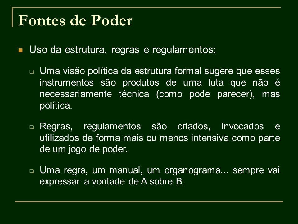 Conflitos na Administração Pública Conflitos entre os burocratas Conflitos entre categorias distintas numa mesma organização.