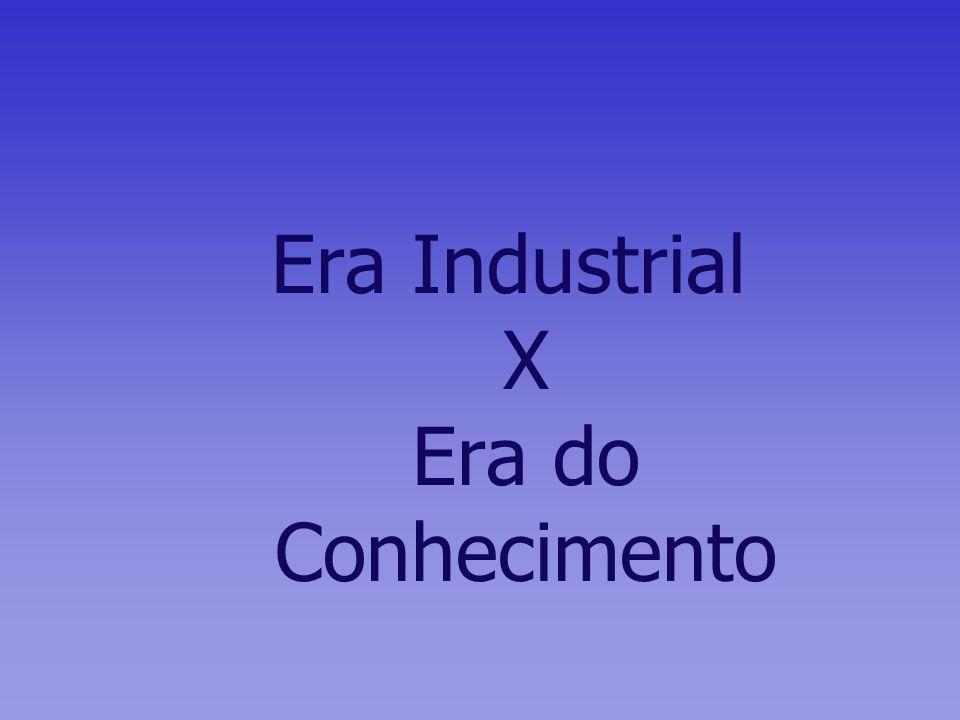 Era Industrial X Era do Conhecimento