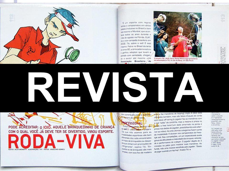 Revista Geralmente, o leitor tem mais tempo para ler e a impressão também é melhor.
