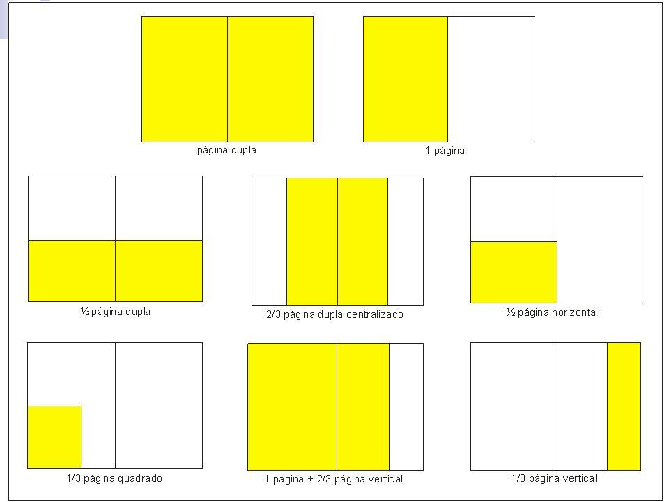 Dicas Pense em formatos diferenciados e links com seções, que permitem melhor utilização do meio.