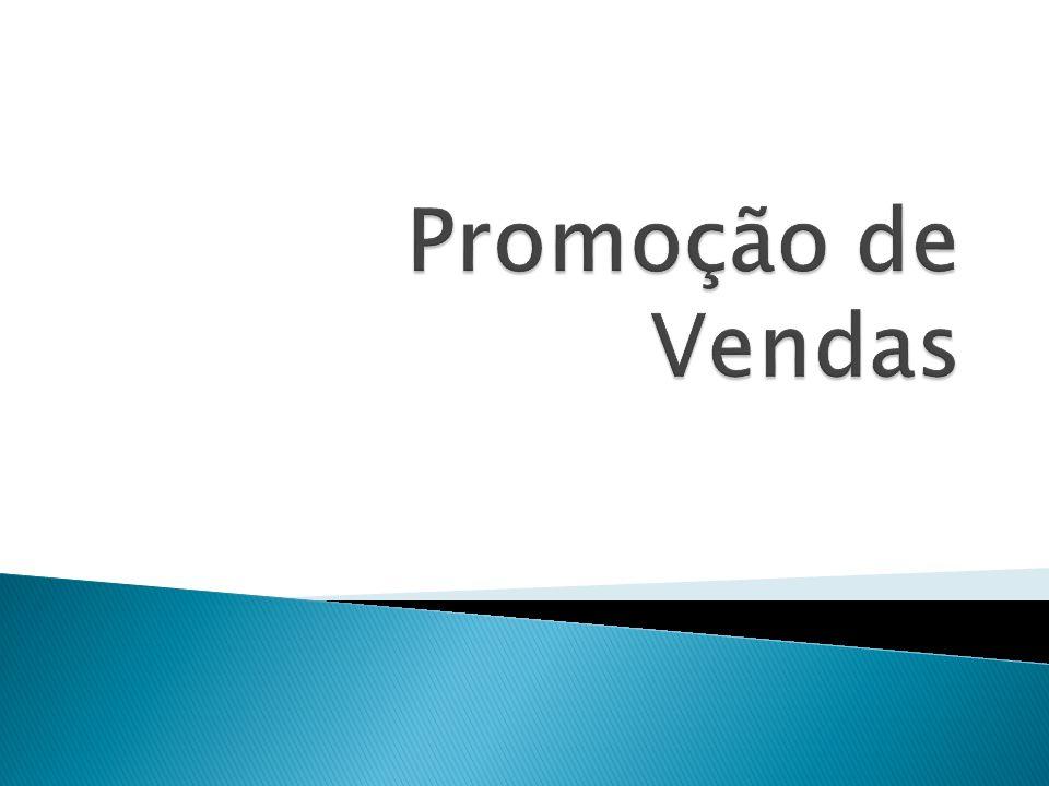Plano de Promoção É a estratégia de comunicação mais diversificada.