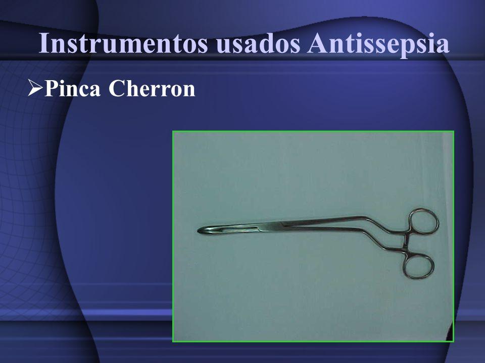 Instrumentos usados para incisão dos tecidos Cabo bisturi n.3 Cabo bisturi n.7 Lamina n.